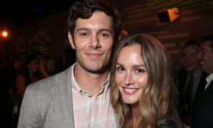 Adam Brody and Leighton Meester.