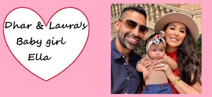 Dhar Mann's girlfriend Laura Gurrola gave birth to a daughter Ella Rose